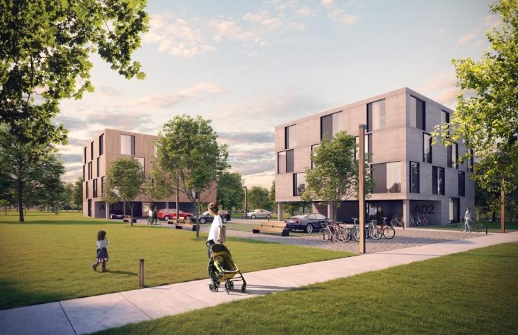 Modulární startovací bydlení